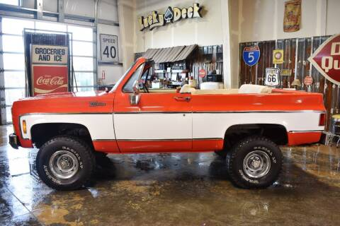 1974 Chevrolet Blazer for sale at Cool Classic Rides in Redmond OR