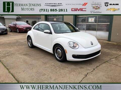 2013 Volkswagen Beetle for sale at Herman Jenkins Used Cars in Union City TN