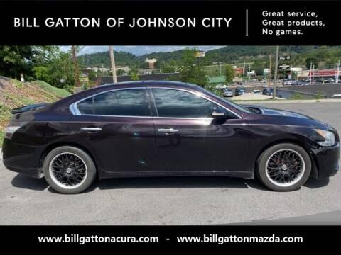 2012 Nissan Maxima for sale at Bill Gatton Used Cars - BILL GATTON ACURA MAZDA in Johnson City TN