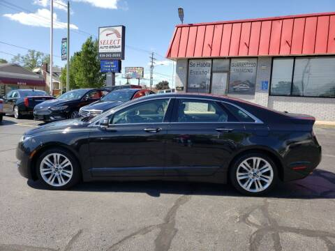 2014 Lincoln MKZ Hybrid for sale at Select Auto Group in Wyoming MI