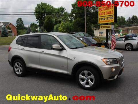 2012 BMW X3 for sale at Quickway Auto Sales in Hackettstown NJ