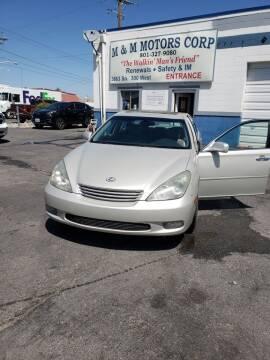 2003 Lexus ES 300 for sale at M&M Motors in Salt Lake City UT