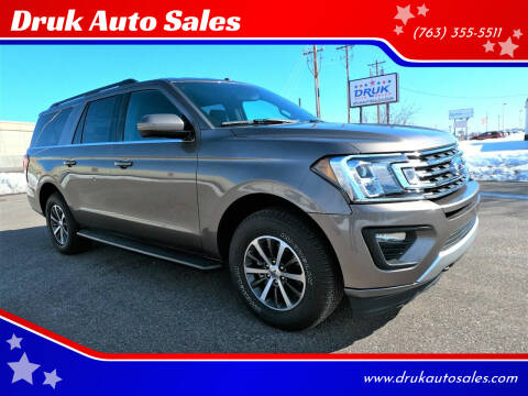 2019 Ford Expedition MAX for sale at Druk Auto Sales in Ramsey MN