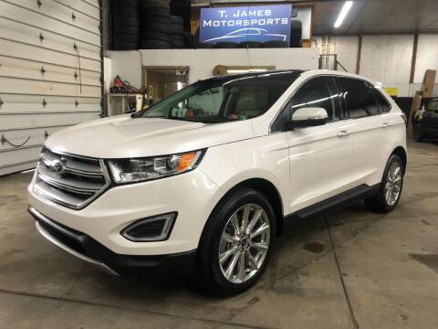 2018 Ford Edge for sale at T James Motorsports in Gibsonia PA