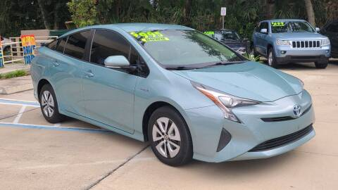 2016 Toyota Prius for sale at Dunn-Rite Auto Group in Longwood FL