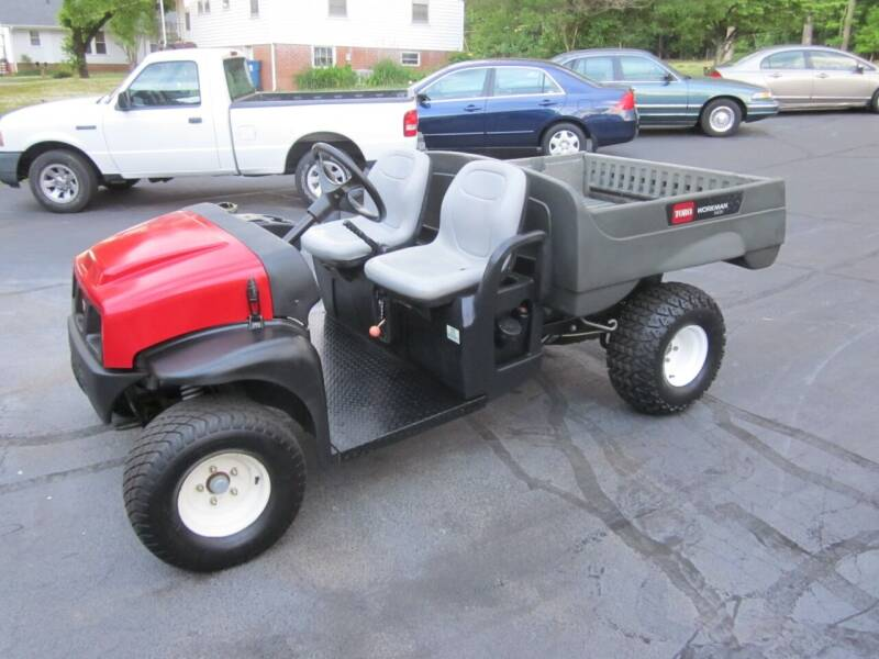 2009 Toro Workman for sale at Barclay's Motors in Conover NC