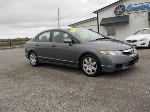 2009 Honda Civic for sale at Country Auto in Huntsville OH