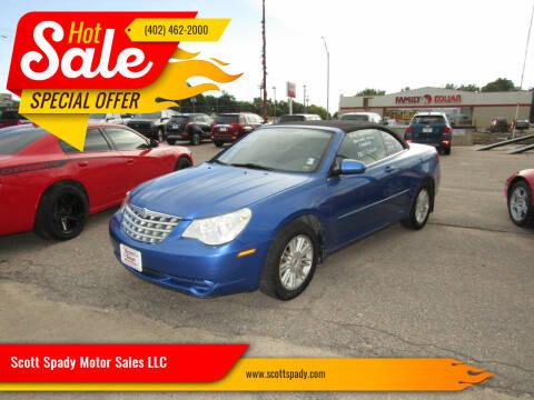 2008 Chrysler Sebring for sale at Scott Spady Motor Sales LLC in Hastings NE
