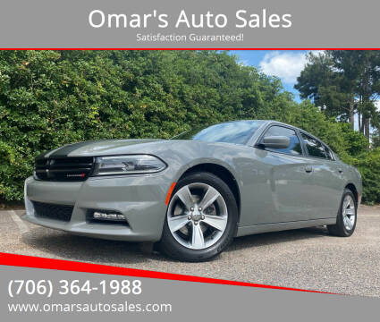 2017 Dodge Charger for sale at Omar's Auto Sales in Martinez GA