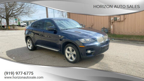 2011 BMW X6 for sale at Horizon Auto Sales in Raleigh NC
