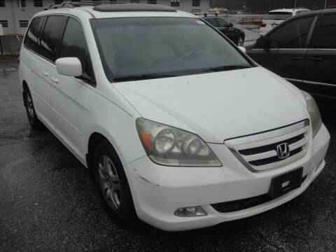 2005 Honda Odyssey for sale at HAPPY TRAILS AUTO SALES LLC in Taylors SC