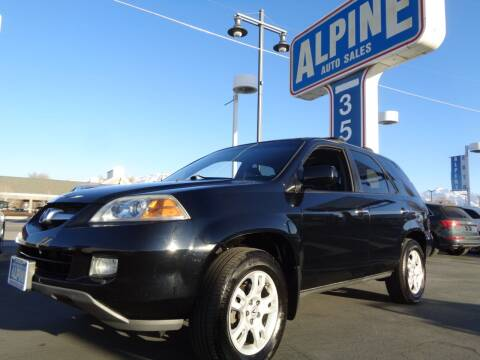 2005 Acura MDX for sale at Alpine Auto Sales in Salt Lake City UT