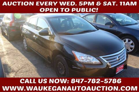 2014 Nissan Sentra for sale at Waukegan Auto Auction in Waukegan IL