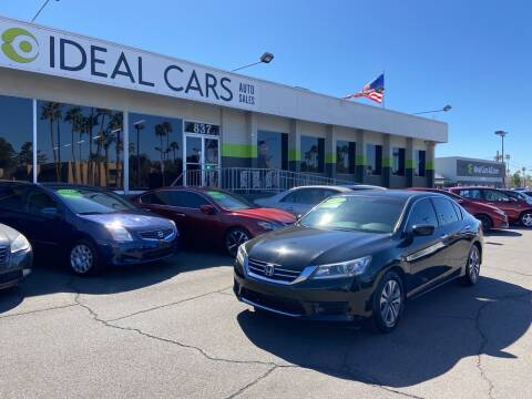 2015 Honda Accord for sale at Ideal Cars in Mesa AZ