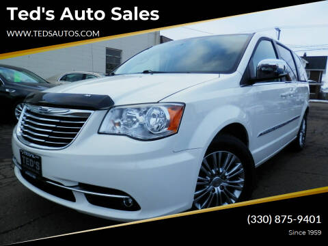 2013 Chrysler Town and Country for sale at Ted's Auto Sales in Louisville OH