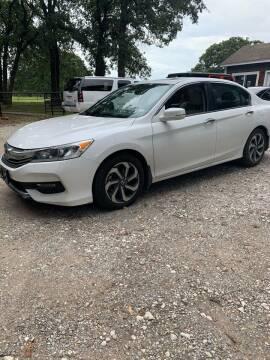 2017 Honda Accord for sale at BARROW MOTORS in Caddo Mills TX