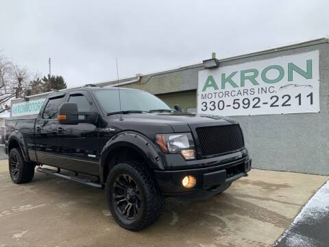 2012 Ford F-150 for sale at Akron Motorcars Inc. in Akron OH