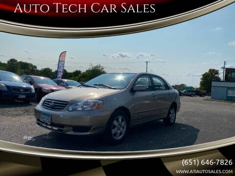 2004 Toyota Corolla for sale at Auto Tech Car Sales in Saint Paul MN