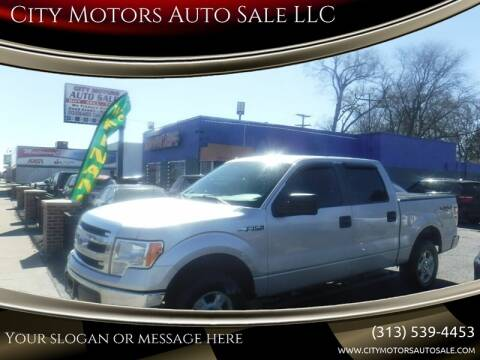 2013 Ford F-150 for sale at City Motors Auto Sale LLC in Redford MI