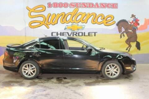 2010 Ford Fusion for sale at Sundance Chevrolet in Grand Ledge MI