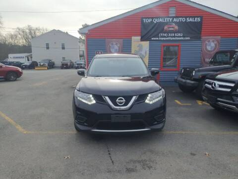 2015 Nissan Rogue for sale at Top Quality Auto Sales in Westport MA