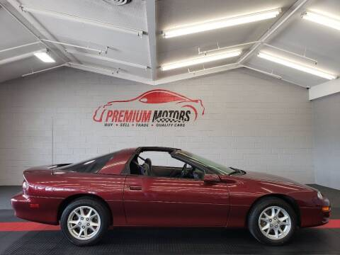 2001 Chevrolet Camaro for sale at Premium Motors in Villa Park IL