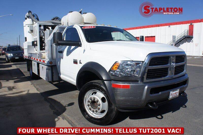 2011 RAM Ram Chassis 5500 for sale at STAPLETON MOTORS in Commerce City CO