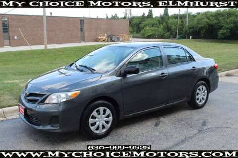 2011 Toyota Corolla for sale at Your Choice Autos - My Choice Motors in Elmhurst IL