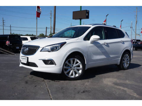 2017 Buick Envision for sale at Maroney Auto Sales in Humble TX