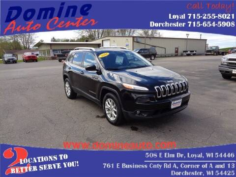 2014 Jeep Cherokee for sale at Domine Auto Center in Loyal WI