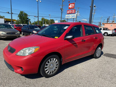 2005 Toyota Matrix for sale at 4th Street Auto in Louisville KY