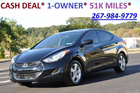 2013 Hyundai Elantra for sale at T CAR CARE INC in Philadelphia PA