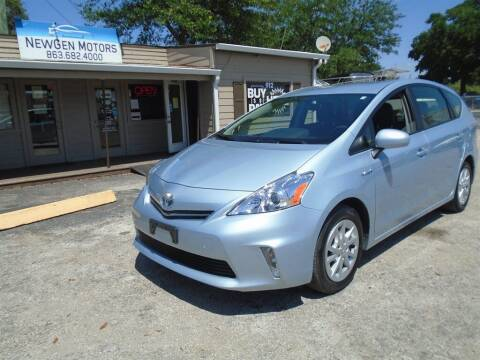2013 Toyota Prius v for sale at New Gen Motors in Lakeland FL