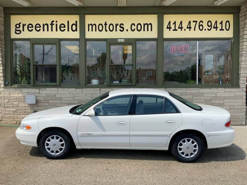 2001 Buick Century for sale at GREENFIELD MOTORS in Milwaukee WI