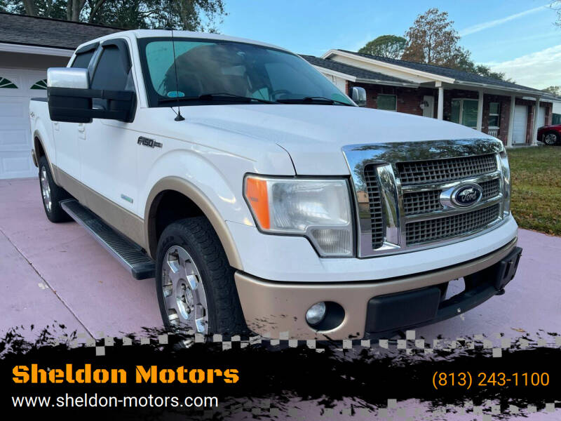 2012 Ford F-150 for sale at Sheldon Motors in Tampa FL