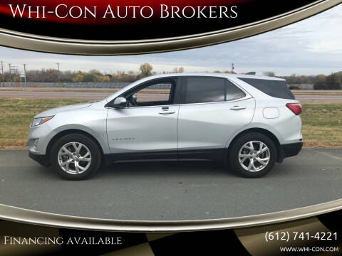 2018 Chevrolet Equinox for sale at Whi-Con Auto Brokers in Shakopee MN