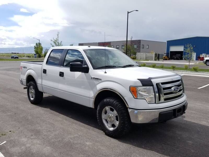 2010 Ford F-150 for sale at FRESH TREAD AUTO LLC in Springville UT