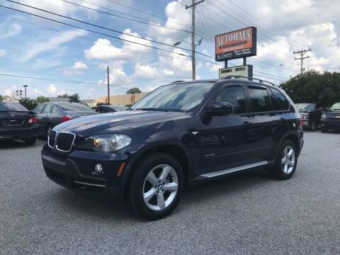 2009 BMW X5 for sale at Autohaus of Greensboro in Greensboro NC