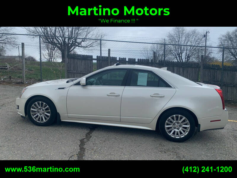 2011 Cadillac CTS for sale at Martino Motors in Pittsburgh PA