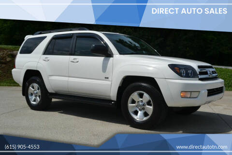 2005 Toyota 4Runner for sale at Direct Auto Sales in Franklin TN