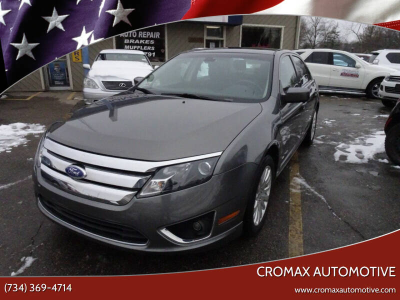 2011 Ford Fusion Hybrid for sale at Cromax Automotive in Ann Arbor MI
