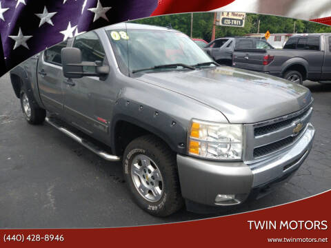 2008 Chevrolet Silverado 1500 for sale at TWIN MOTORS in Madison OH