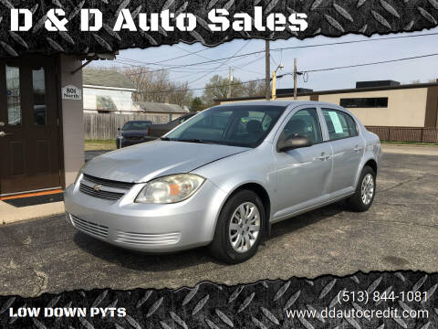 2009 Chevrolet Cobalt for sale at D & D Auto Sales in Hamilton OH