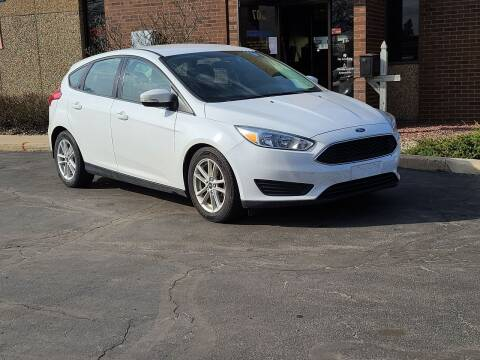 2017 Ford Focus for sale at Mighty Motors in Adrian MI
