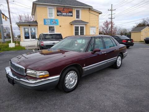 1992 Buick Park Avenue for sale at Top Gear Motors in Winchester VA