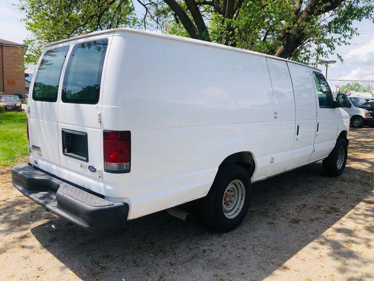 White 2012 FORD E-SERIES CARGO for sale in Bridgeview, IL Photo 10