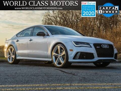 2014 Audi RS 7 for sale at World Class Motors LLC in Noblesville IN