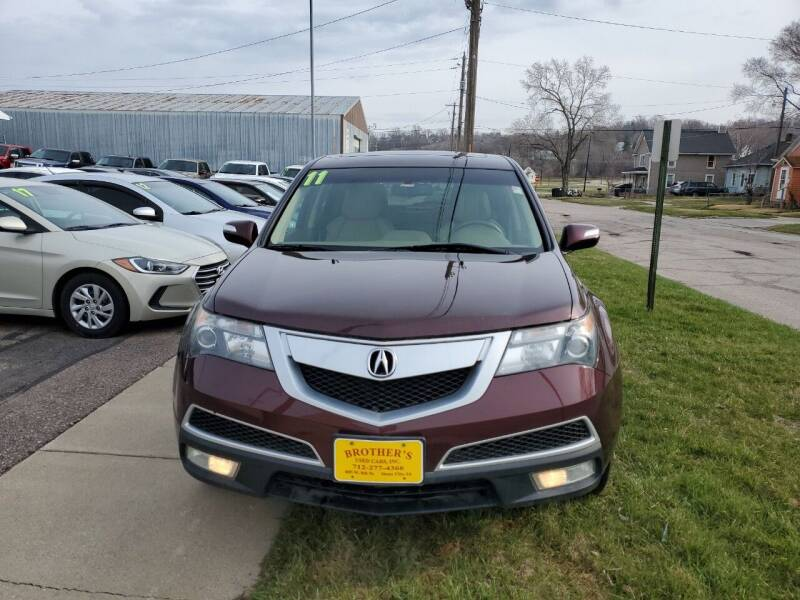 2011 Acura MDX for sale at Brothers Used Cars Inc in Sioux City IA