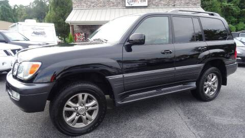 2005 Lexus LX 470 for sale at Driven Pre-Owned in Lenoir NC