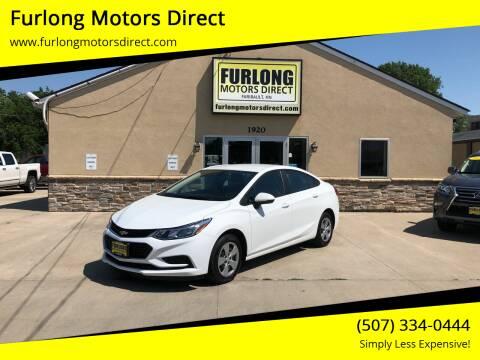 2017 Chevrolet Cruze for sale at Furlong Motors Direct in Faribault MN